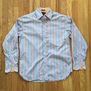 Tommy Hilfiger 80s 2 ply dress shirt size small